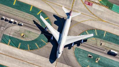 G-BYGG - British Airways Boeing 747-400
