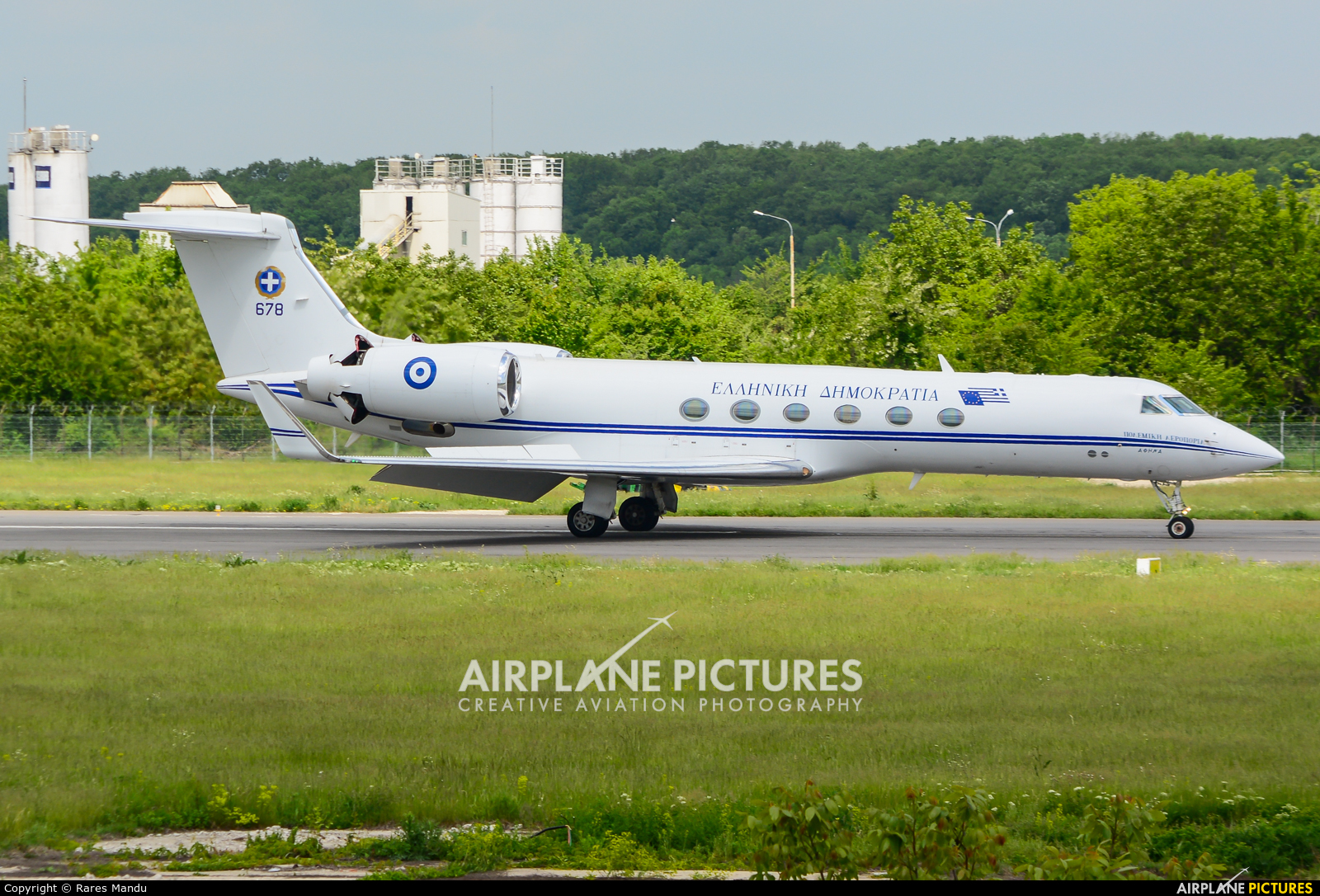 Greece - Hellenic Air Force 678 aircraft at Bucharest - Aurel Vlaicu Intl