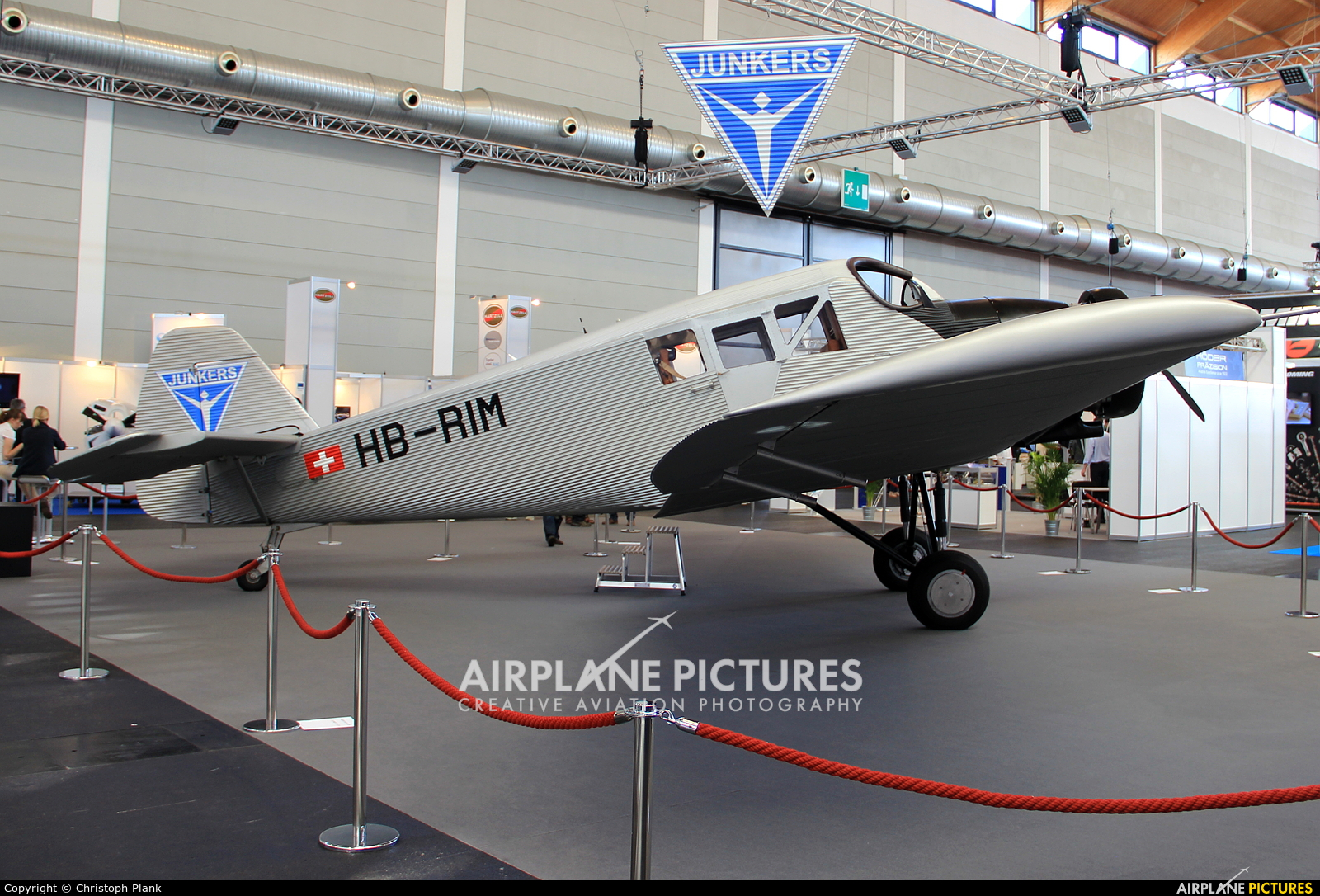 Private HB-RIM aircraft at Friedrichshafen