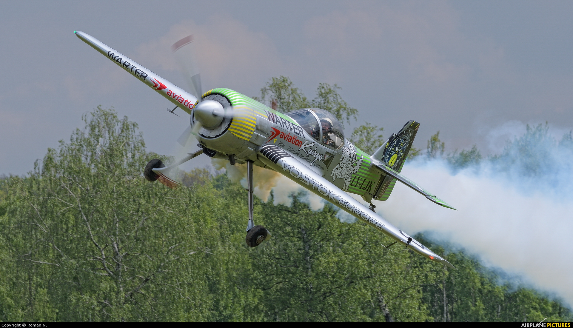 Private LY-LJK aircraft at Off Airport - Poland