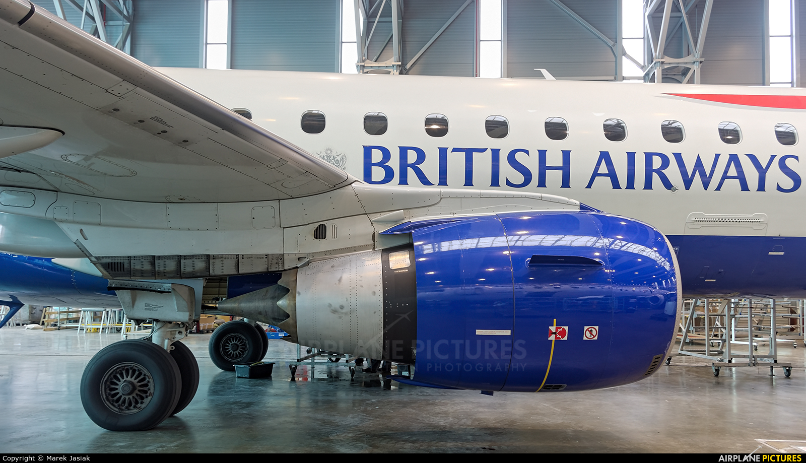 British Airways - City Flyer G-LCYD aircraft at Katowice - Pyrzowice