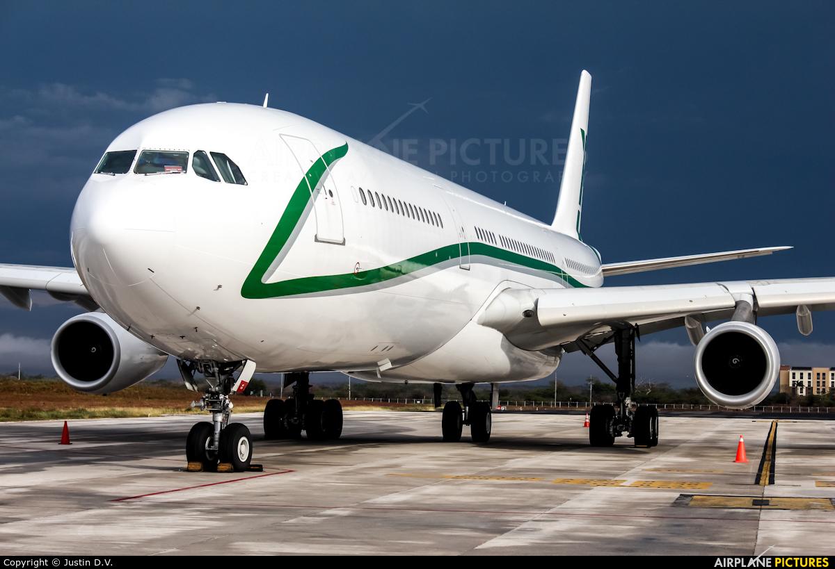 AIR X Charter 9H-BIG aircraft at Liberia- Daniel Oduber Quirós Intl