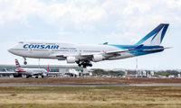 Corsair Boeing 747 visited Liberia title=