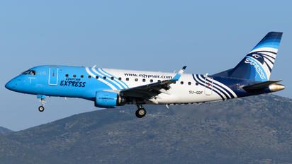 SU-GDF - Egyptair Express Embraer ERJ-170 (170-100)