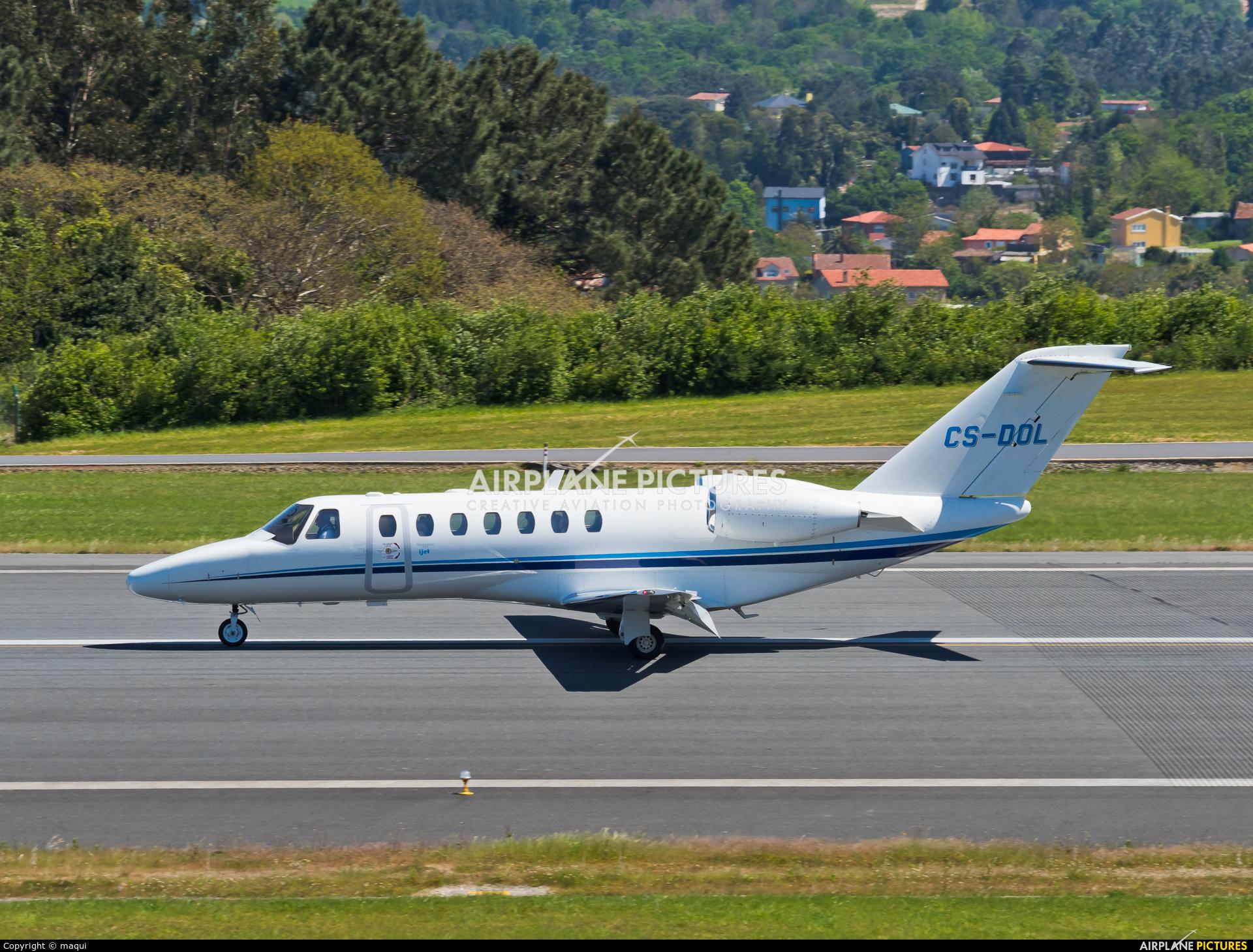 Private CS-DOL aircraft at La Coruña