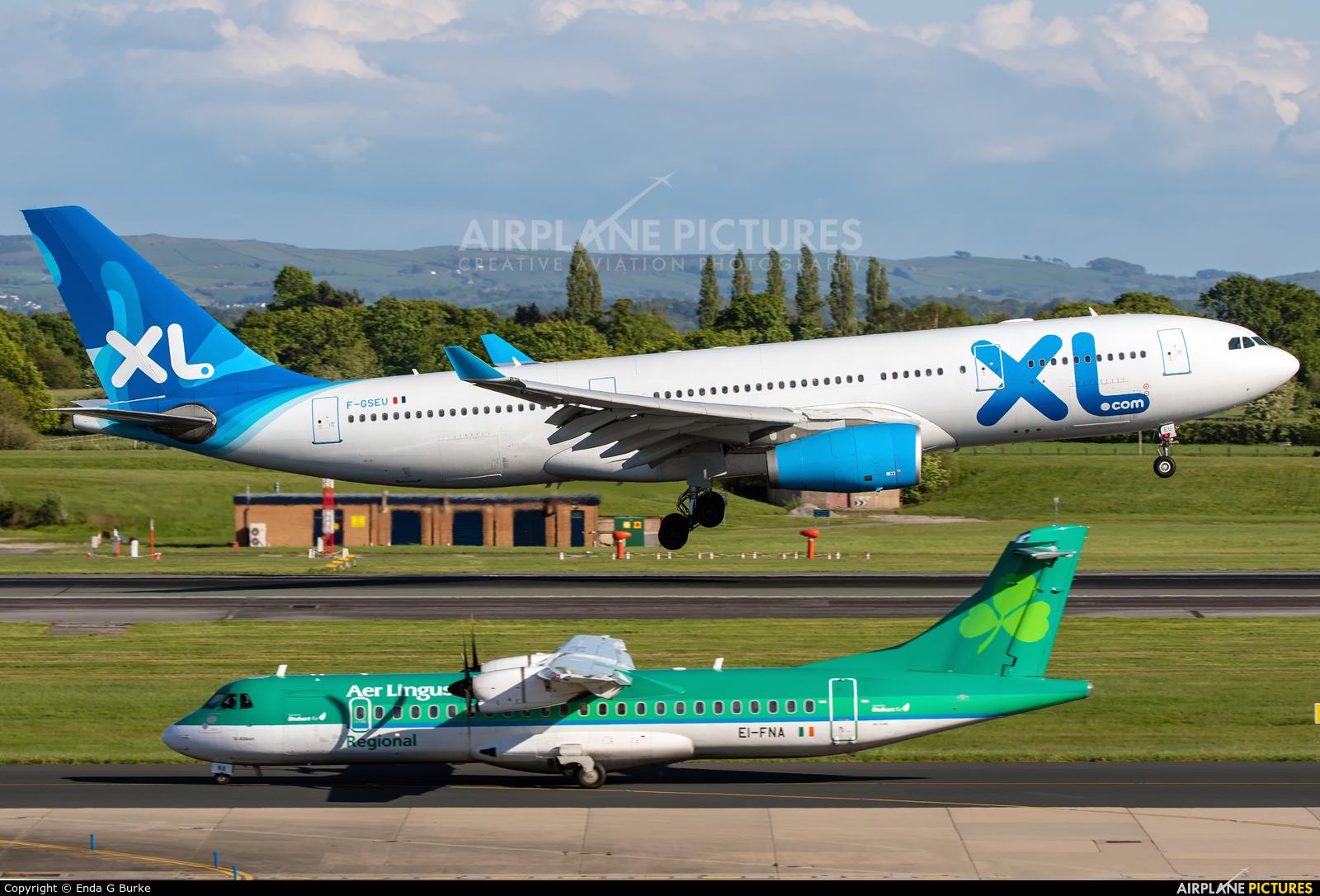 XL Airways France F-GSEU aircraft at Manchester