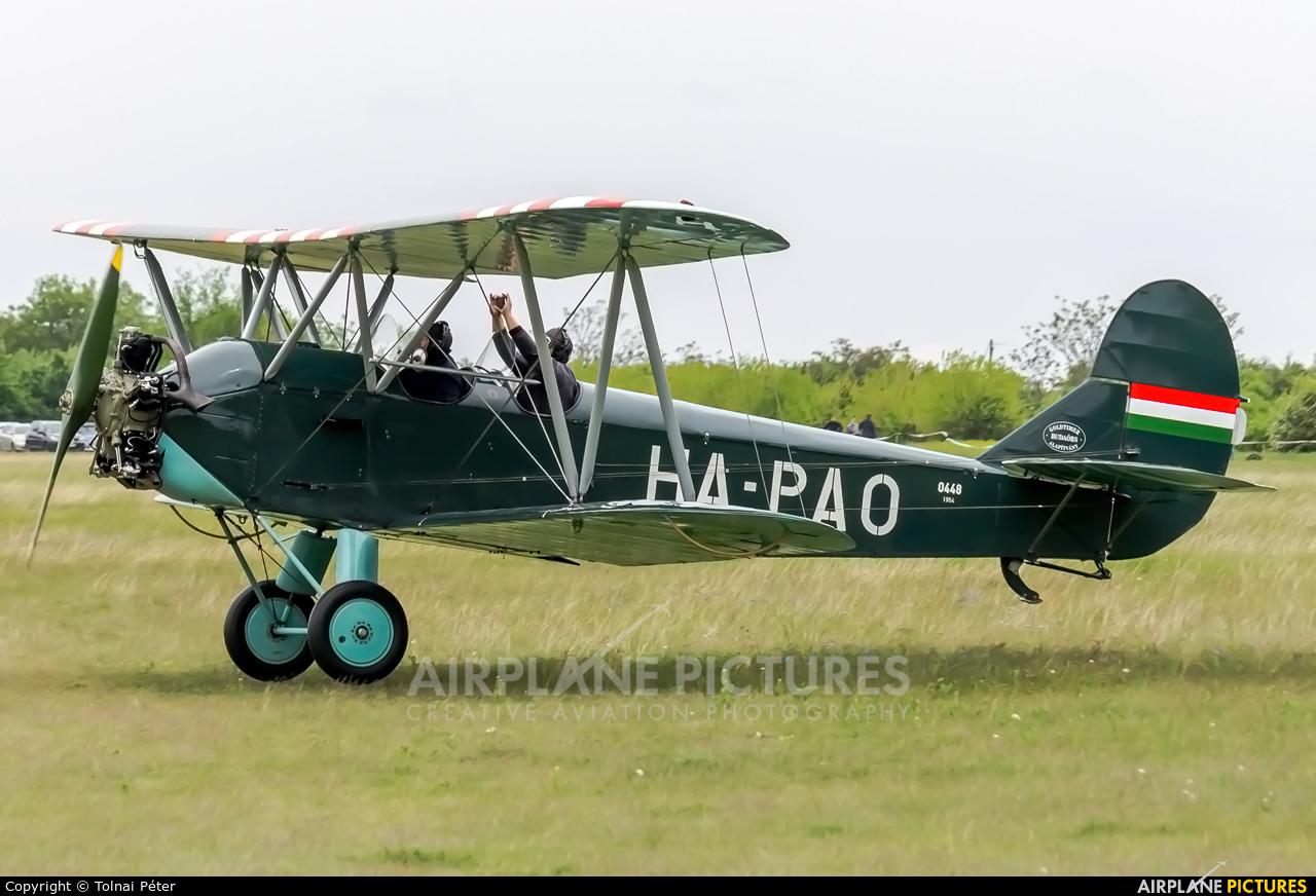 Private HA-PAO aircraft at Budaors