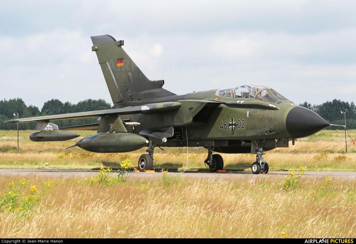 Germany - Air Force 46+02 aircraft at Kleine Brogel