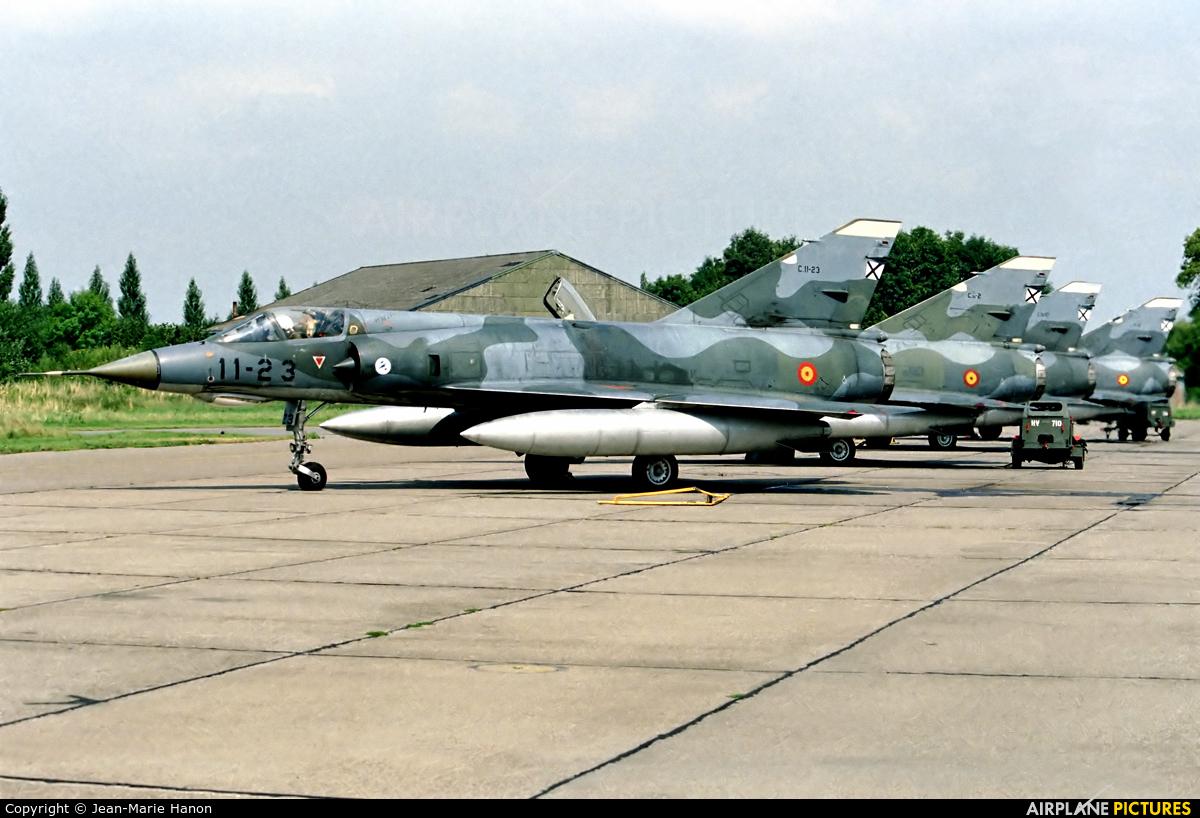 Spain - Air Force C-11-23 aircraft at Liège-Bierset