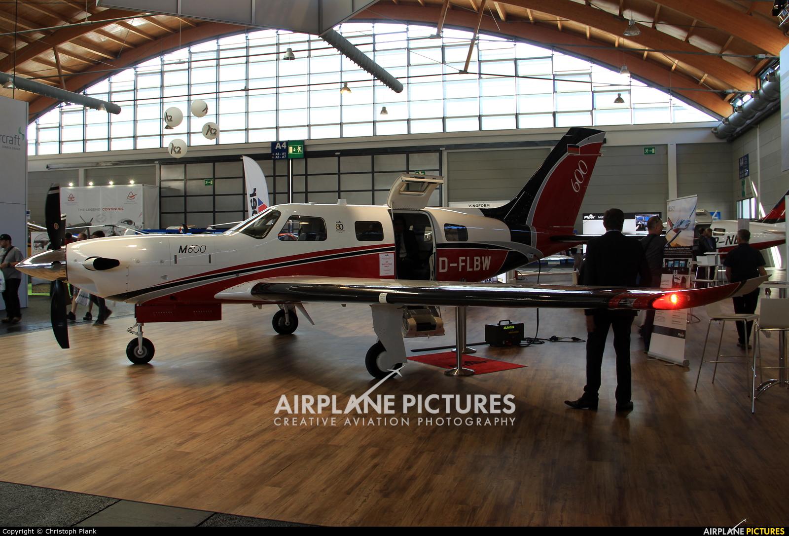 Private D-FLBW aircraft at Friedrichshafen