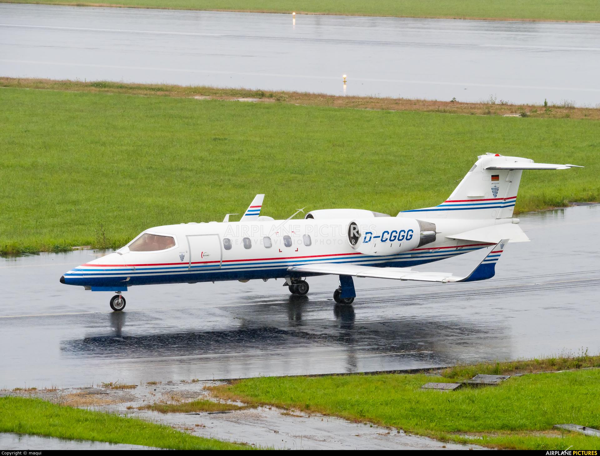 Jetcall D-CGGG aircraft at La Coruña