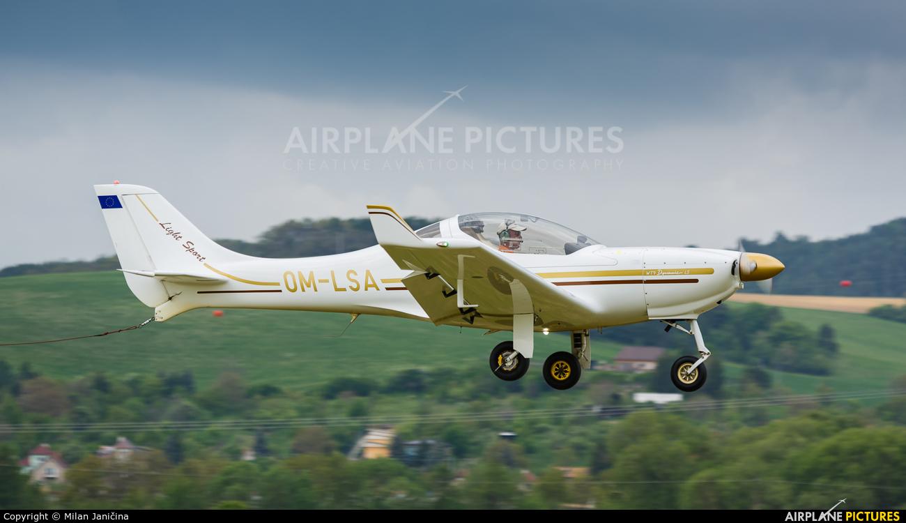 Aerospool OM-LSA aircraft at Prievidza