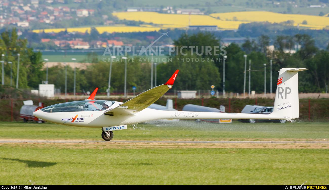 Private SP-3724 aircraft at Prievidza