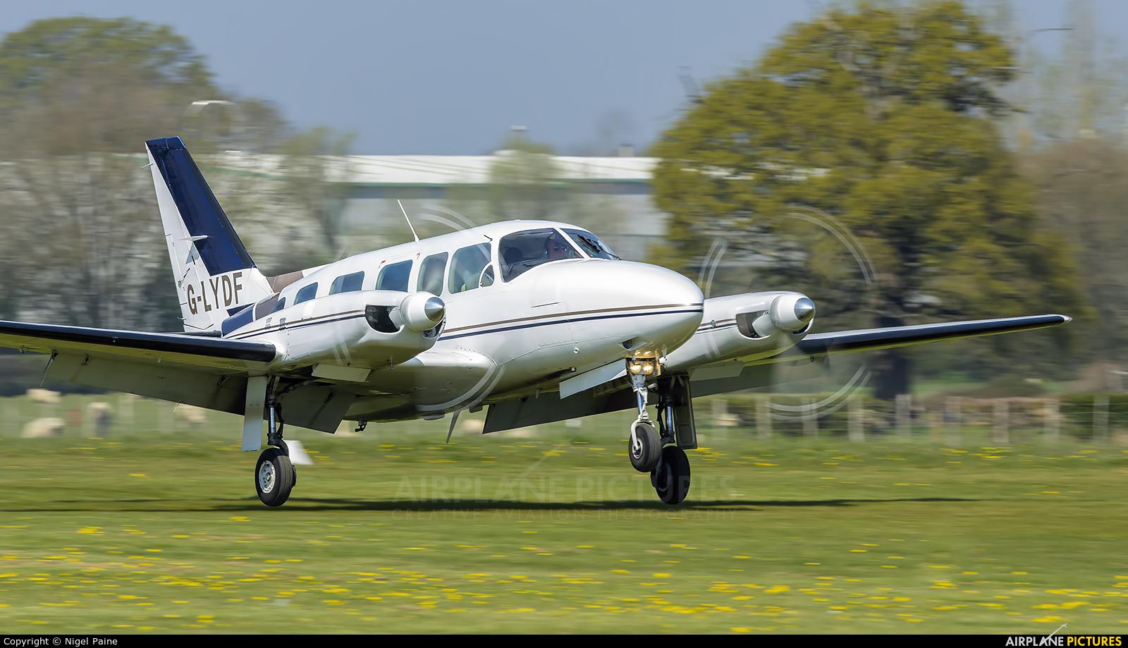 Private G-LYDF aircraft at Lashenden / Headcorn