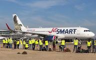 CC-AWA - JetSMART Airbus A320 aircraft