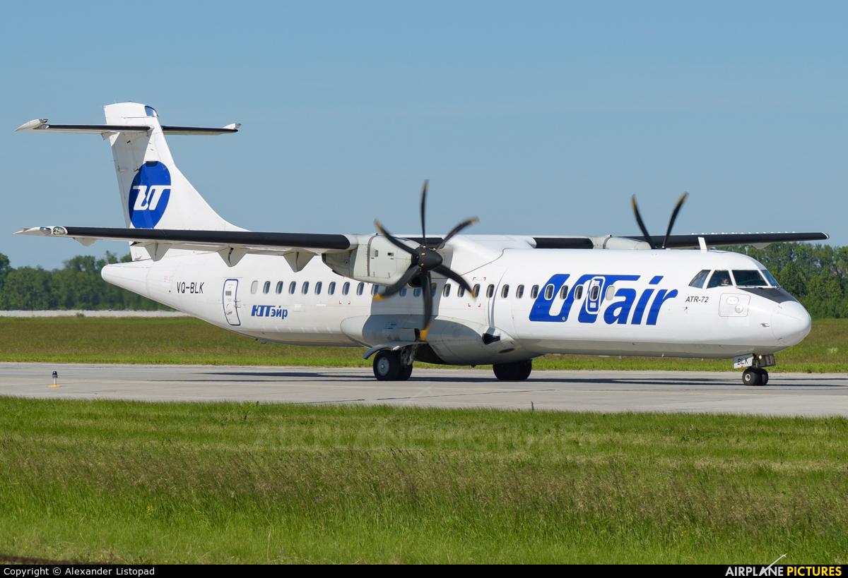 UTair VQ-BLK aircraft at Novosibirsk