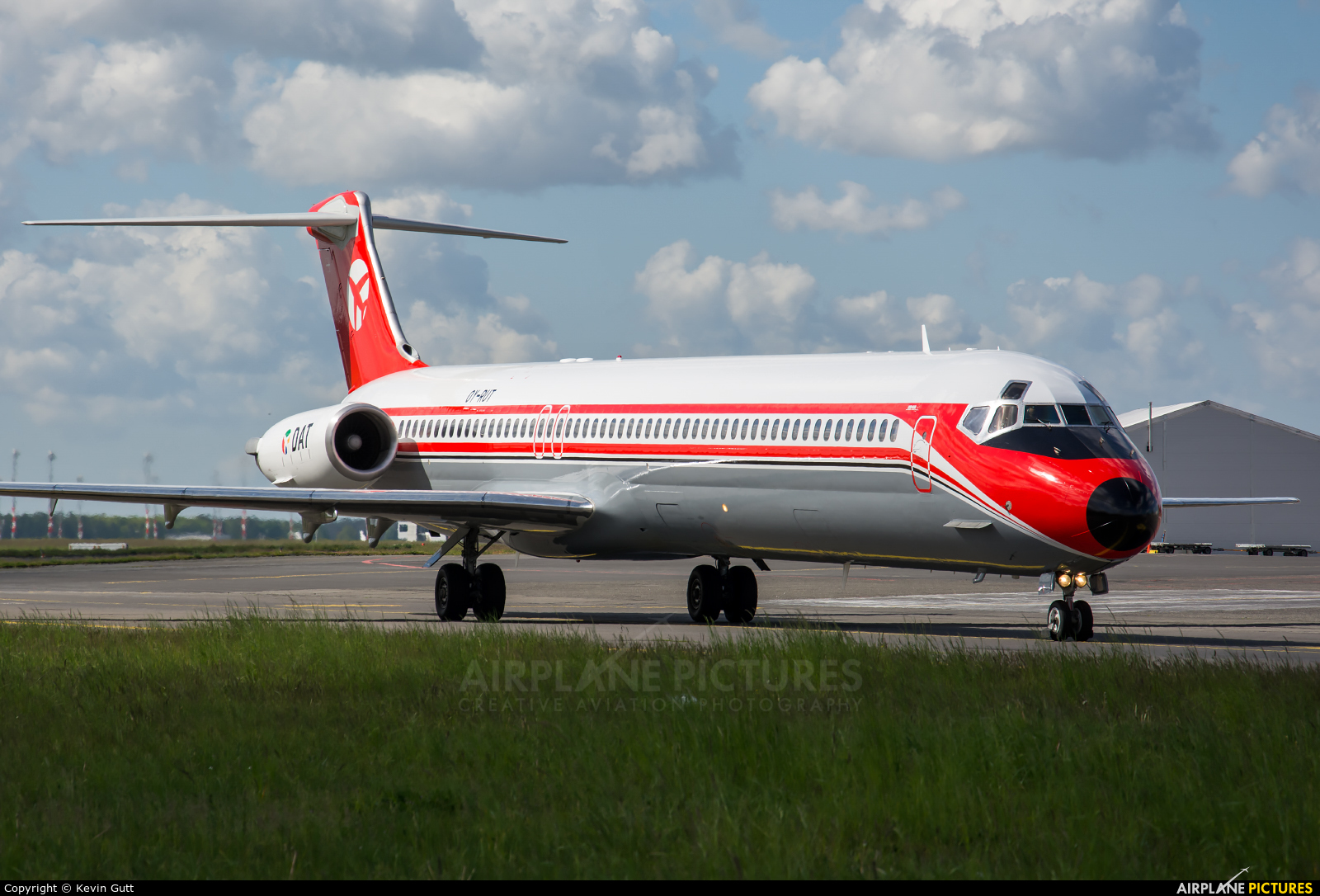 Danish Air Transport OY-RUT aircraft at Berlin - Schönefeld