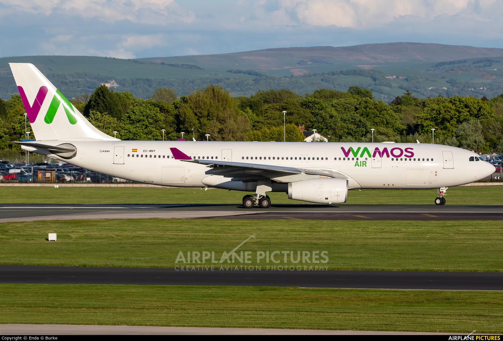 Wamos Air EC-MNY aircraft at Manchester