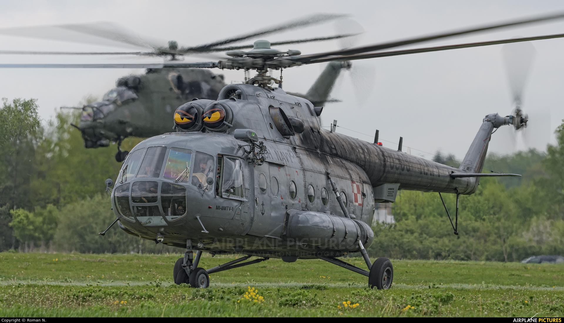 Poland - Navy 0608 aircraft at Off Airport - Poland