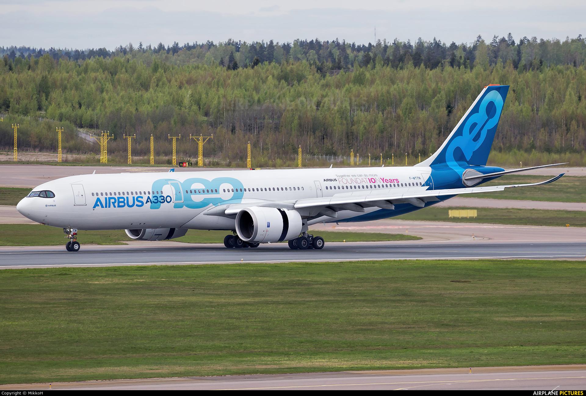 Airbus Industrie F-WTTN aircraft at Helsinki - Vantaa