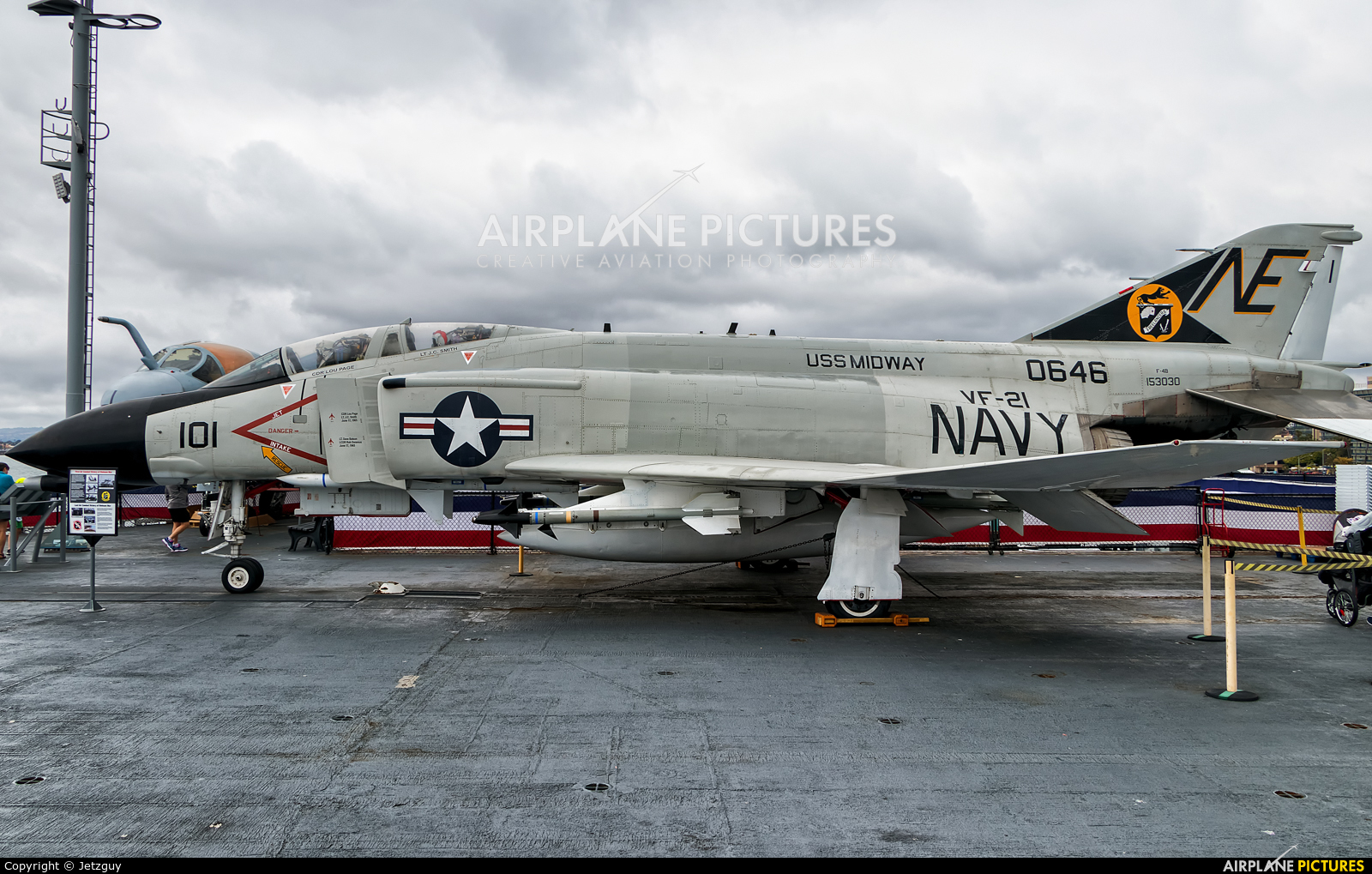 USA - Navy 153030 aircraft at San Diego - USS Midway Museum