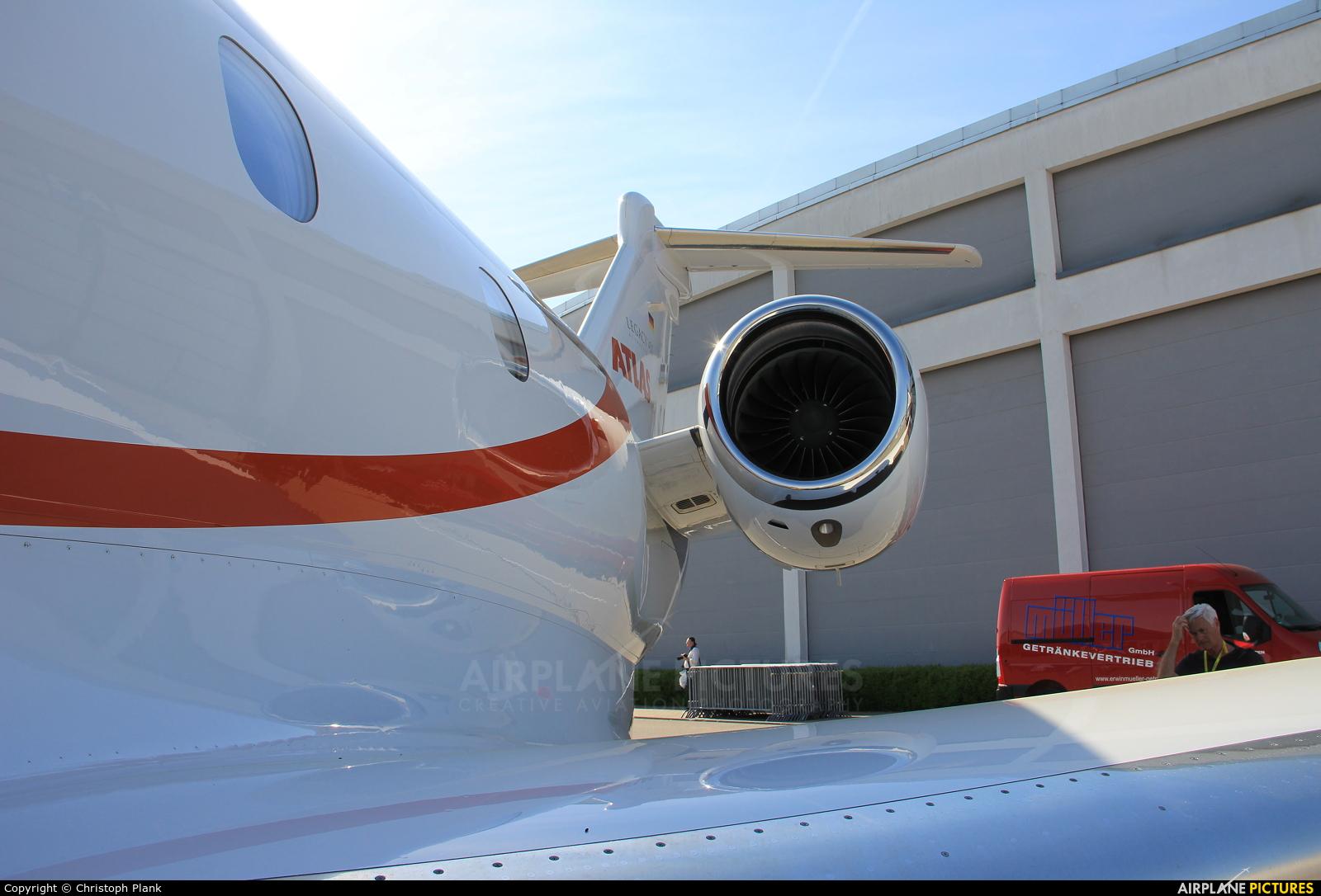 Atlas Air D-BFIL aircraft at Friedrichshafen