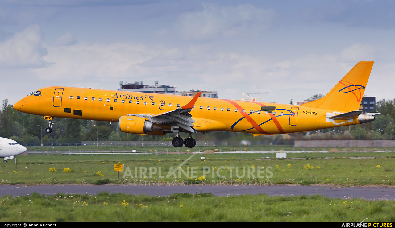 Saratov Airlines VQ-BRX aircraft at Warsaw - Frederic Chopin