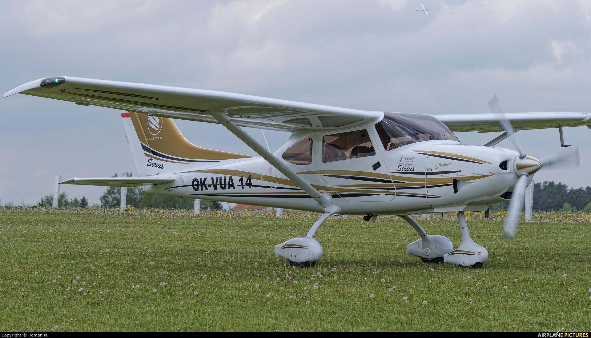 Private OK-VUA14 aircraft at Off Airport - Poland