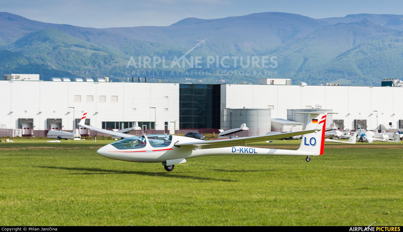 Private D-KKOL aircraft at Prievidza