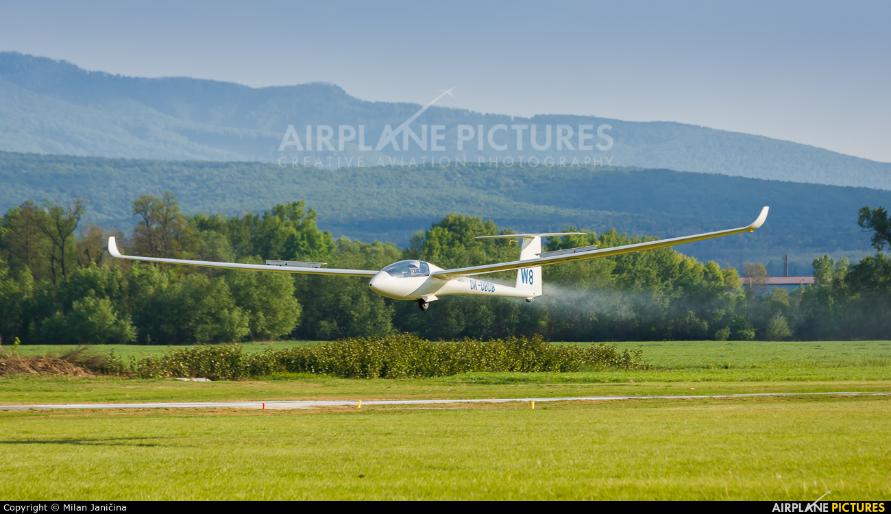 Private OK-0808 aircraft at Prievidza
