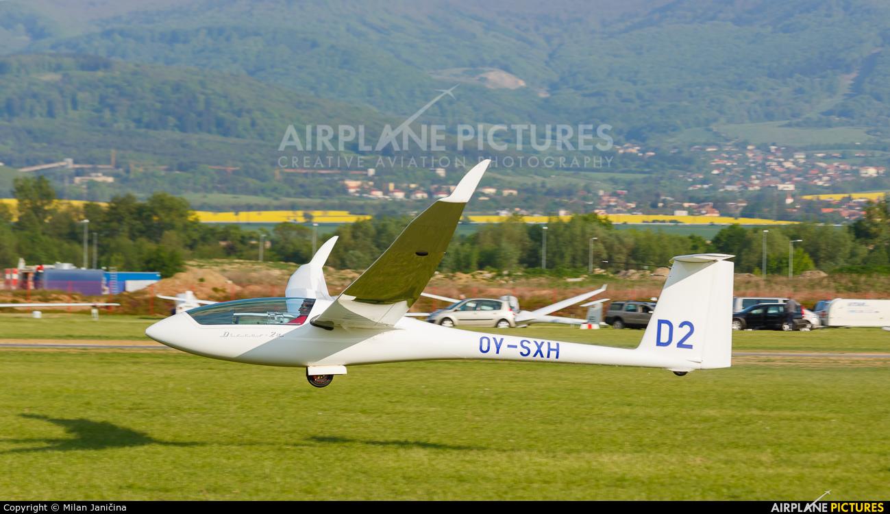 Private OY-SXH aircraft at Prievidza