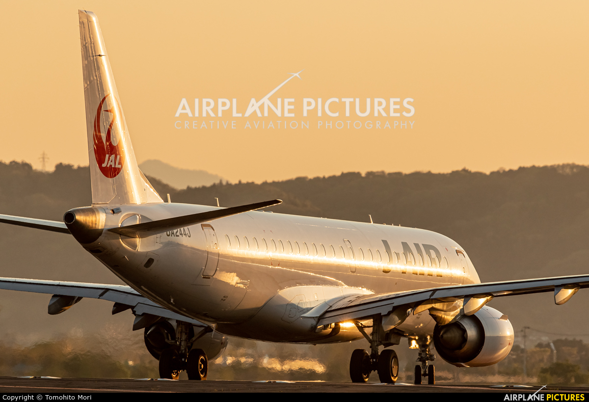 J-Air JA244J aircraft at Sendai