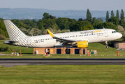EC-MAN - Vueling Airlines Airbus A320 aircraft