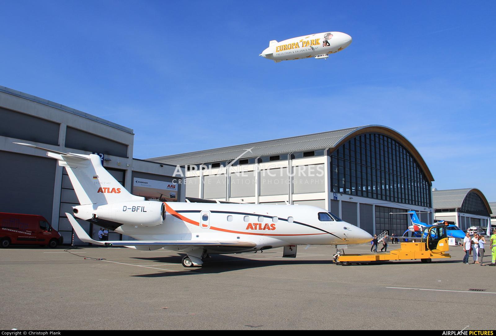 - Airport Overview EDNY aircraft at Friedrichshafen