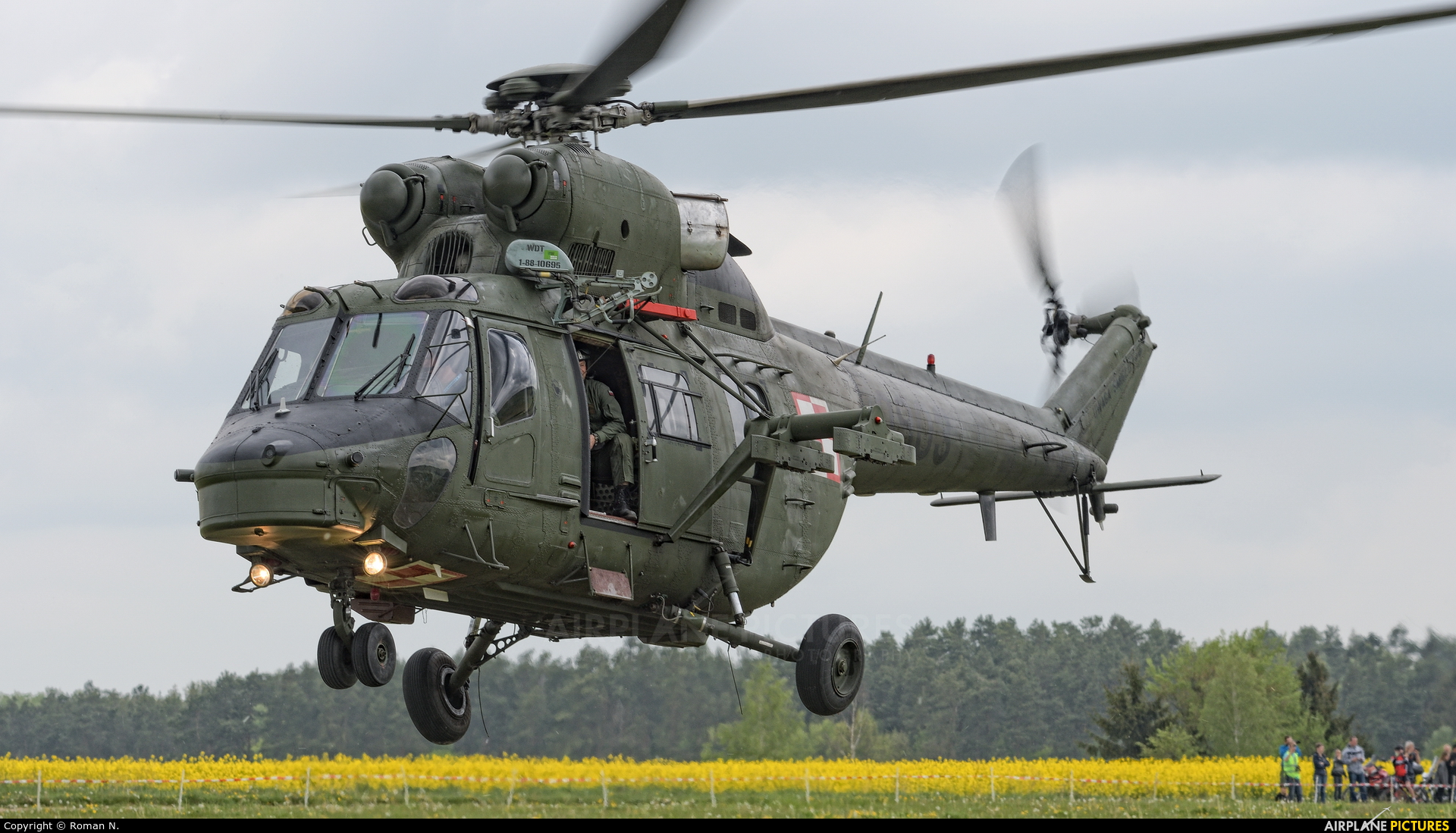 Poland - Army 0903 aircraft at Off Airport - Poland