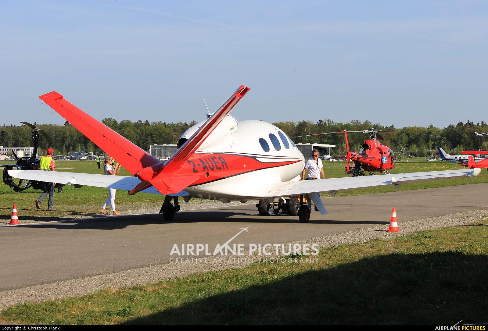 Private 2-AUER aircraft at Friedrichshafen