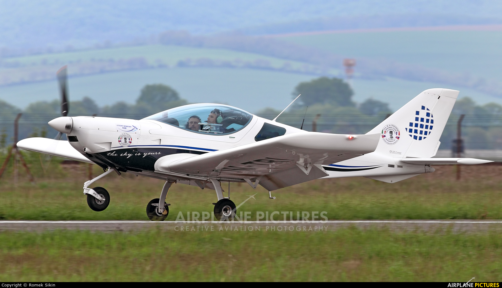 Private OM-TRI aircraft at Piestany