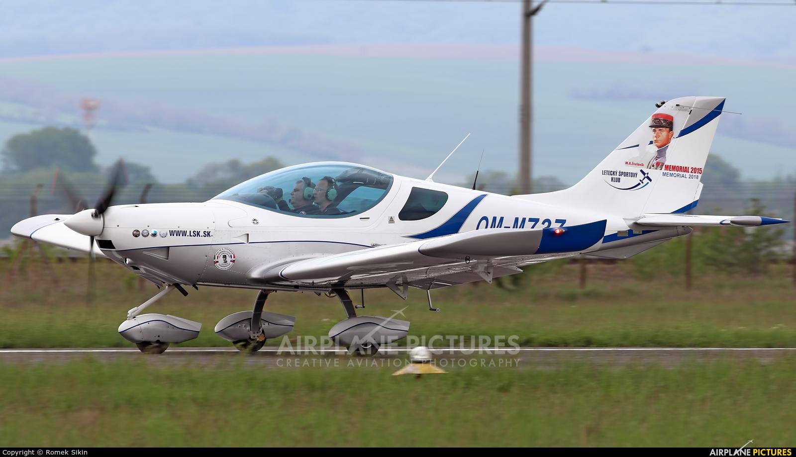 Letecky Sportovy Klub Zvolen OM-M737 aircraft at Piestany