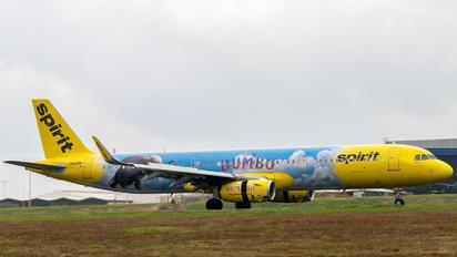 N662NK - Spirit Airlines Airbus A321