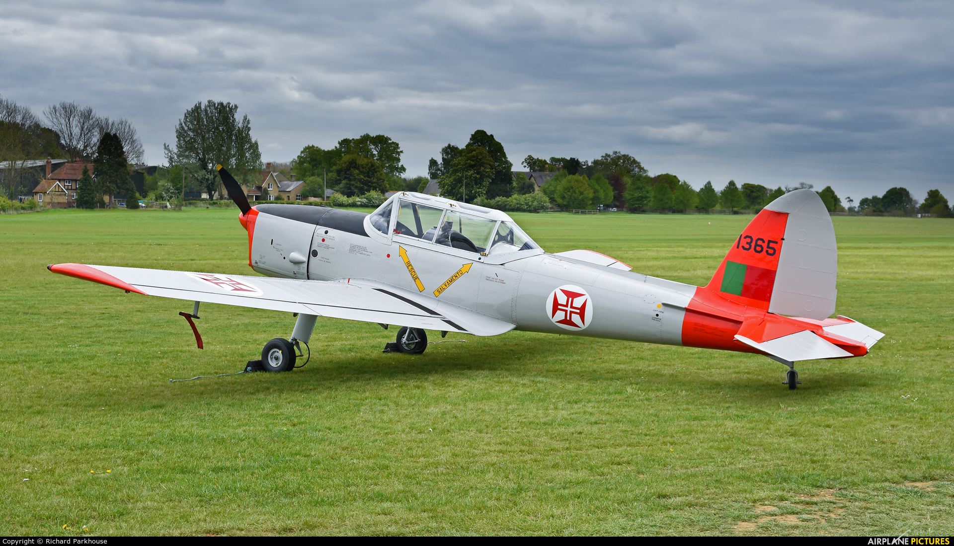 Private G-DHPM aircraft at Old Warden