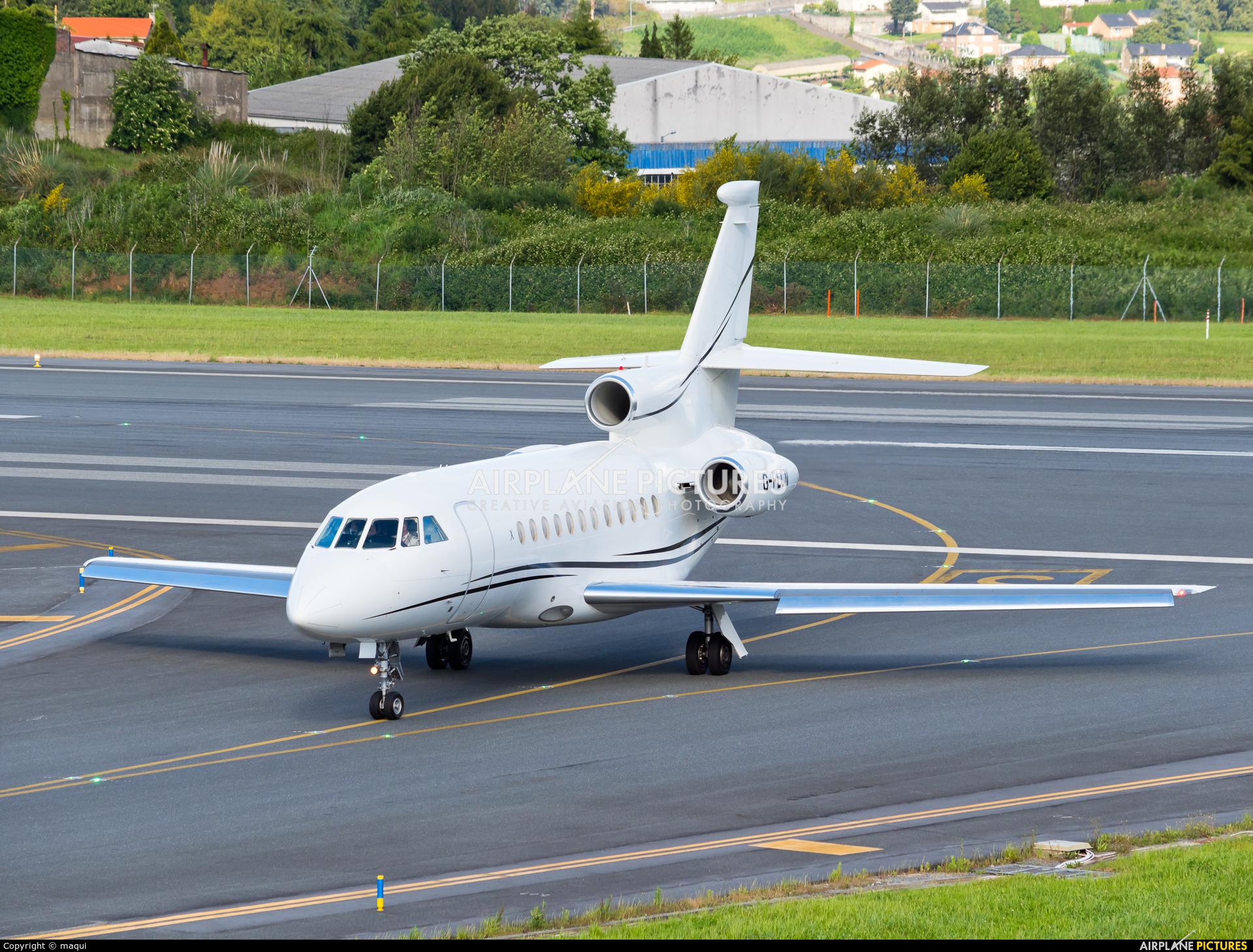 Xclusive Jet Charter G-FLCN aircraft at La Coruña