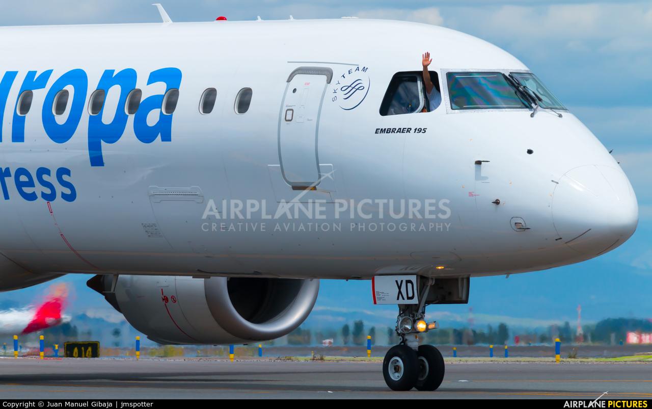Air Europa Express EC-KXD aircraft at Madrid - Barajas