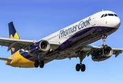 G-TCVA - Thomas Cook Airbus A321 aircraft