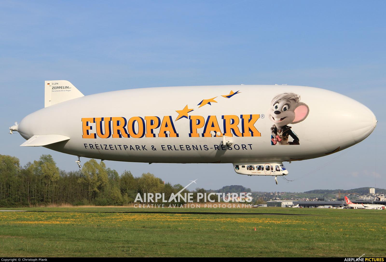 Zeppelin D-LZFN aircraft at Friedrichshafen
