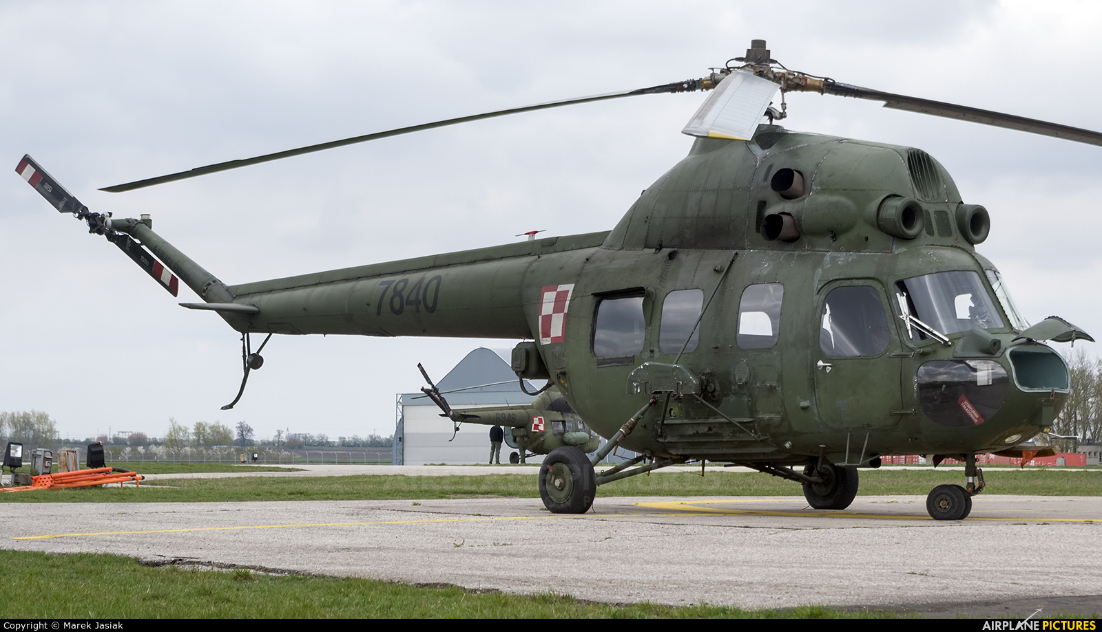 Poland - Army 7840 aircraft at Inowrocław - Latkowo