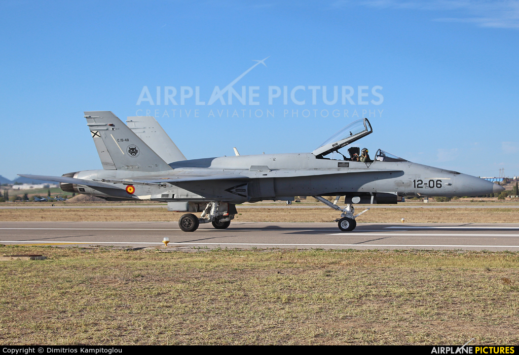 Spain - Air Force C.15-48 aircraft at Tanagra