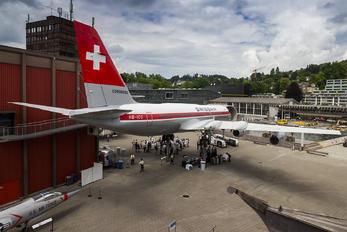 HB-ICC - Swissair Convair CV-990 Coronado