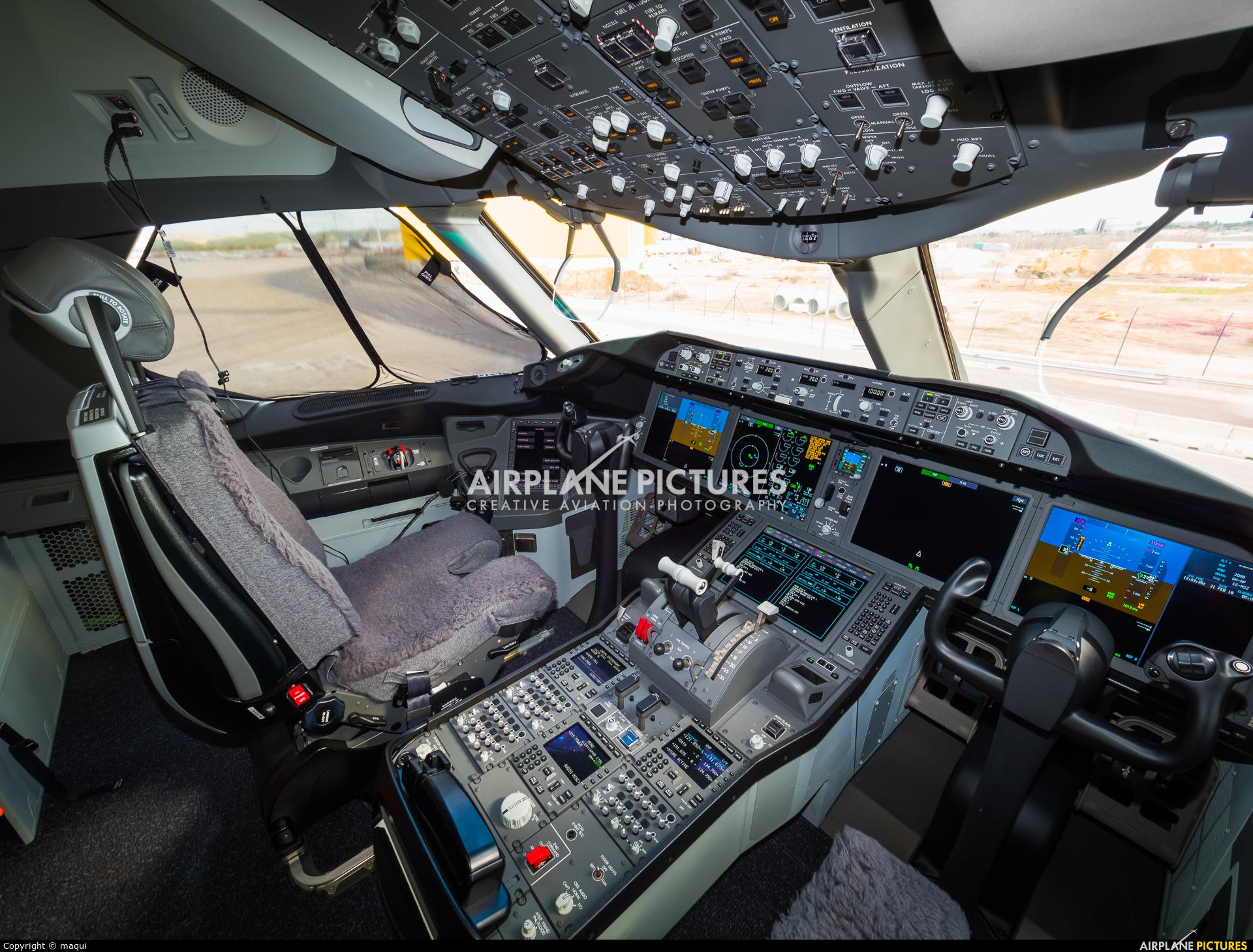 Air Europa EC-MSZ aircraft at Madrid - Barajas