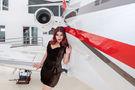 - Aviation Glamour - Aviation Glamour - Model - at Guatemala - La Aurora airport