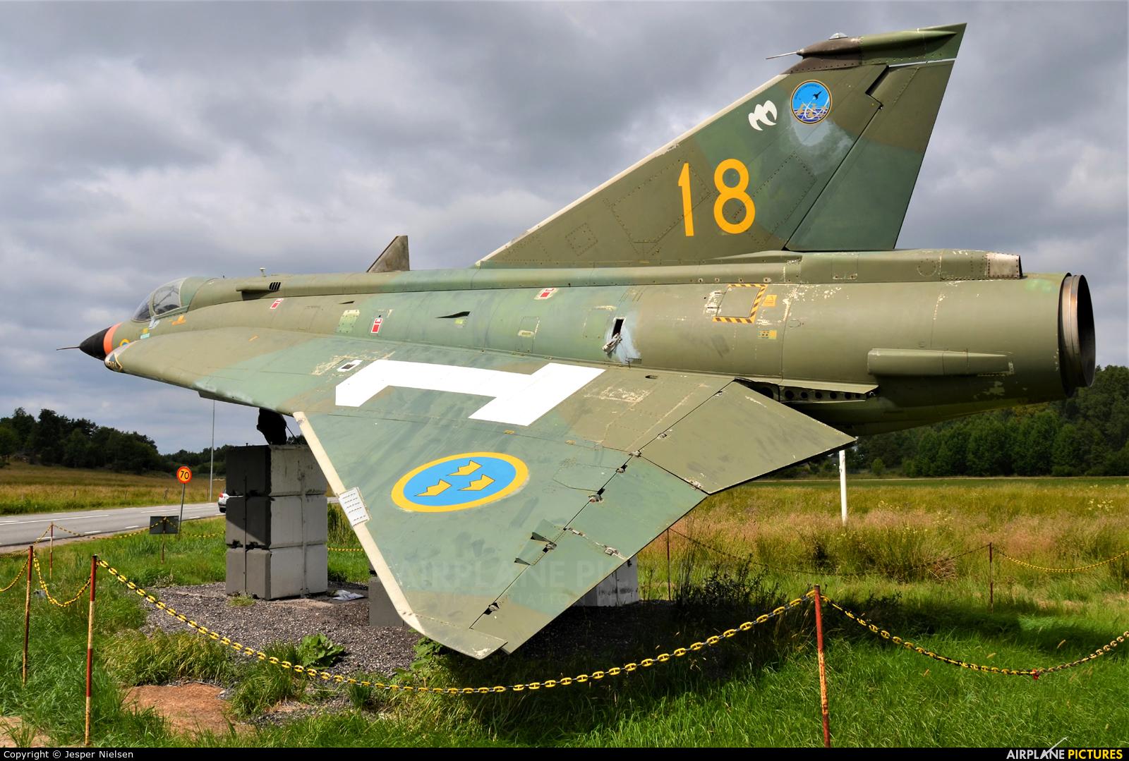 Sweden - Air Force 35598 aircraft at Göteborg City - Säve